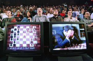 Kasparov Deep Blue derrota